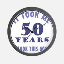 ItTookMe_50 Wall Clock