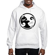 yin-yang-cat Hoodie