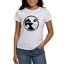 yin-yang-cat Tee