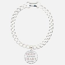 4-BlackFIghtForYouCenter Bracelet