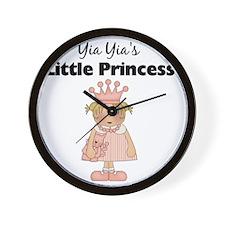 little princess 2 Wall Clock