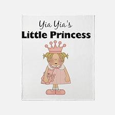 little princess 2 Throw Blanket