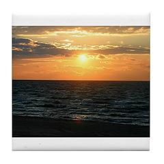 sunset3 Tile Coaster