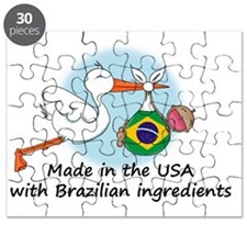 stork baby brazil 2 Puzzle