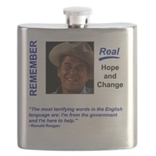 Remember Reagan Flask