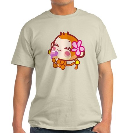 Girl Ice Cream Light T-Shirt