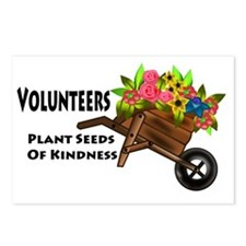 plant seeds kindness Postcards (Package of 8)