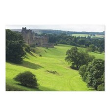 Alnwick Castle 9x12 print Postcards (Package of 8)