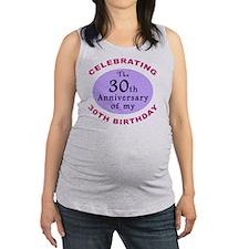 anniversay3 60th Maternity Tank Top