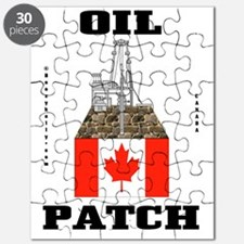 Canada Oil Patch 2a BC use A4 using Puzzle