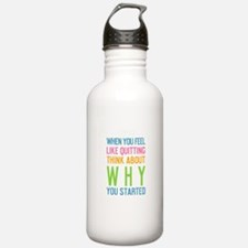 Funny Running quotes Water Bottle