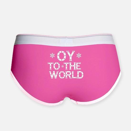 OY to the world Women's Boy Brief