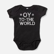 OY to the world Baby Bodysuit