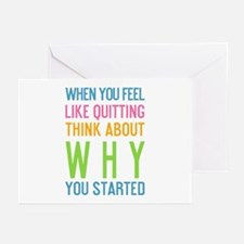 Cute Fitness Greeting Cards (Pk of 20)