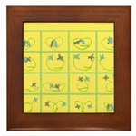 Flights of Fancy Birds Flying Framed Tile