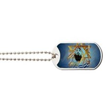 Pass Over Collage Blue-Yardsign Dog Tags