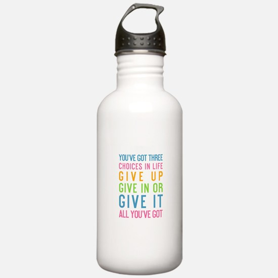Motivating Water Bottle