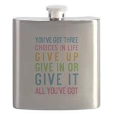 Unique Life choices Flask