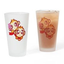 Couple Drinking Glass