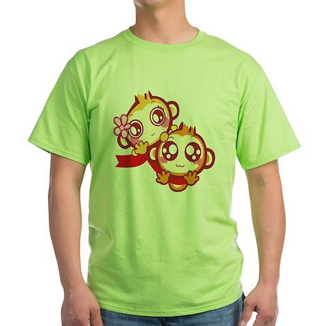 Couple Green T-Shirt