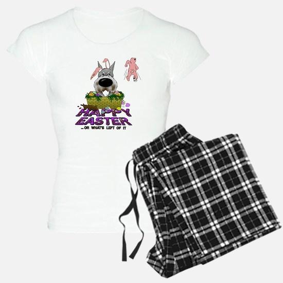 SchnauzerEasterShirt2 Pajamas