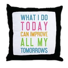 Cute Fitness Throw Pillow