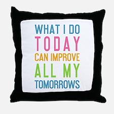 Funny Motivation Throw Pillow