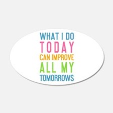 Funny Today Wall Decal