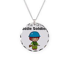 little soldier boy Necklace
