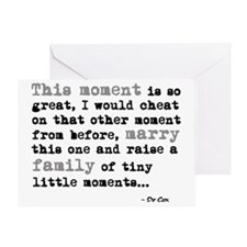 Dr cox this moment Greeting Card
