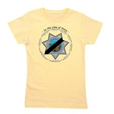 In the Line of Duty Girl's Tee