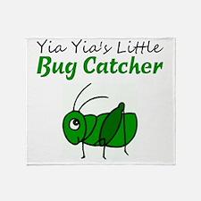 bug catcher Throw Blanket