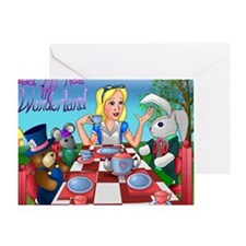 Tea party v3 Greeting Card