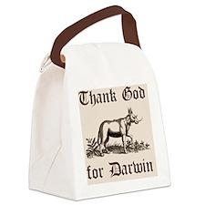 Darwin shirt Canvas Lunch Bag