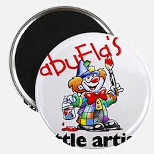 abuelas little artist 2 Magnet