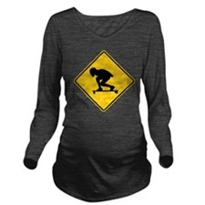 DH. Long Sleeve Maternity T-Shirt