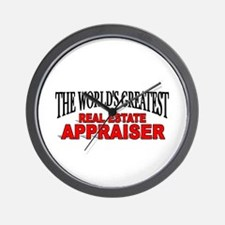 """""""The World's Greatest Real Estate Appraiser"""" Wall"""