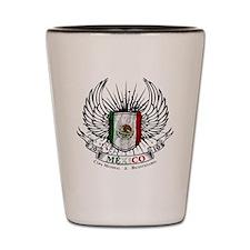 bicentenario mexico Shot Glass