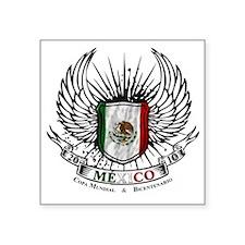 """bicentenario mexico Square Sticker 3"""" x 3"""""""