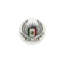 bicentenario mexico Mini Button