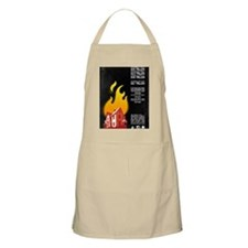23x35 Our House is on Fire Apron