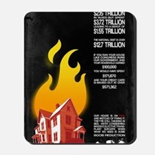 23x35 Our House is on Fire Mousepad