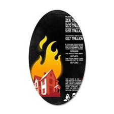 23x35 Our House is on Fire Wall Decal
