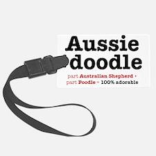 aussiedoodle-use Luggage Tag