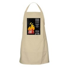16x20 Our House is on Fire Apron
