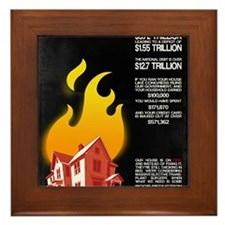 16x20 Our House is on Fire Framed Tile