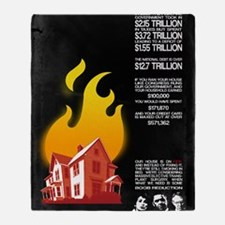16x20 Our House is on Fire Throw Blanket