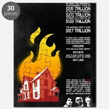 16x20 Our House is on Fire Puzzle