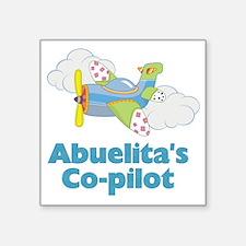 """abuelitas copilot Square Sticker 3"""" x 3"""""""
