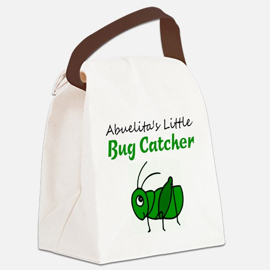 bug catcher Canvas Lunch Bag